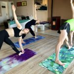 Agni Way Lagos Yoga Shala: triangles