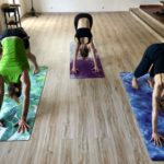 Agni Way Lagos Yoga Shala: downward dogs